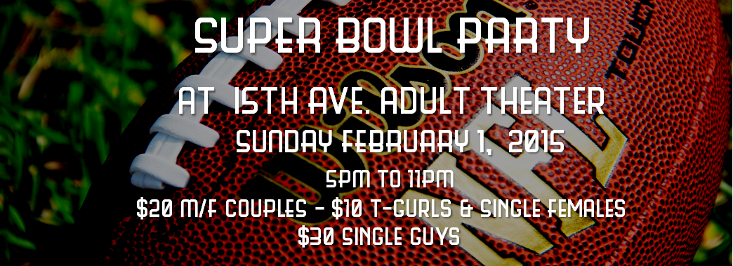 Think, adult bowl game house party super