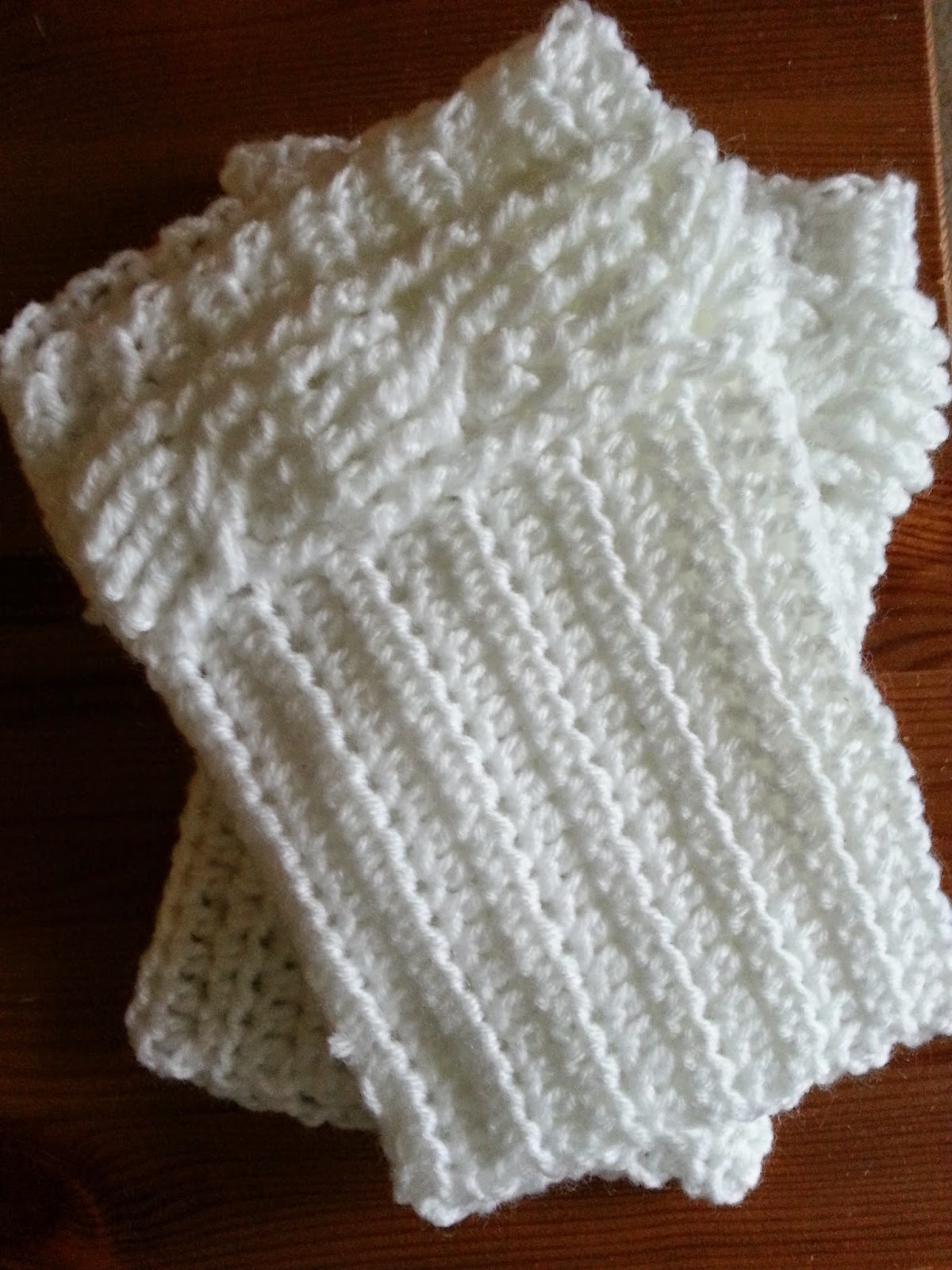 Crochet from J: Cabled Boot Cuffs