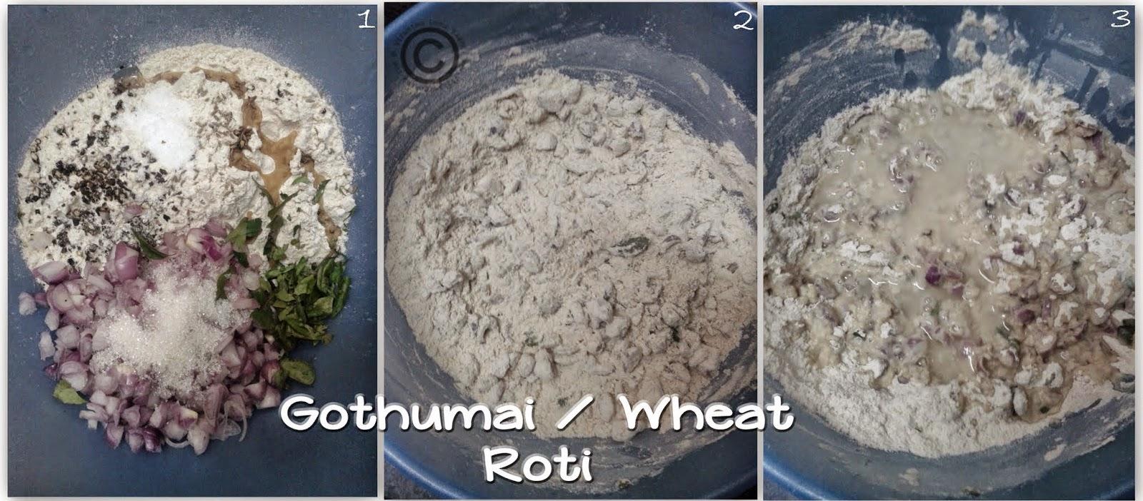 Wheat-roti