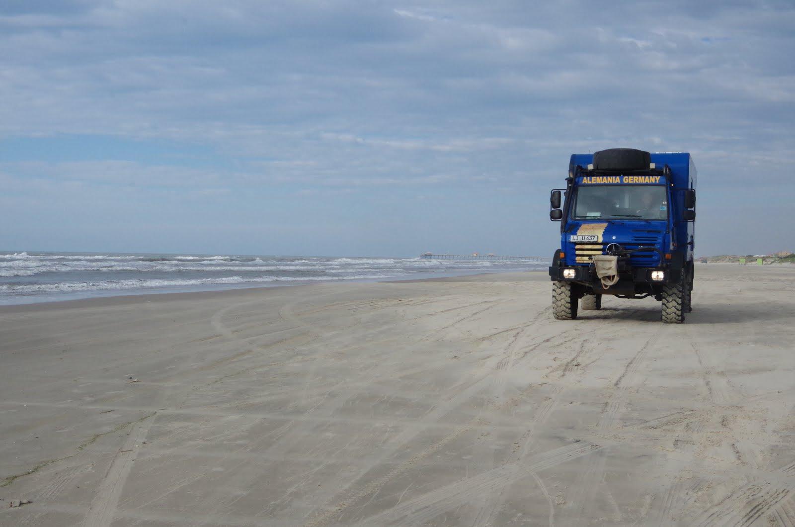 200 km am Strand Richtung Uruguay