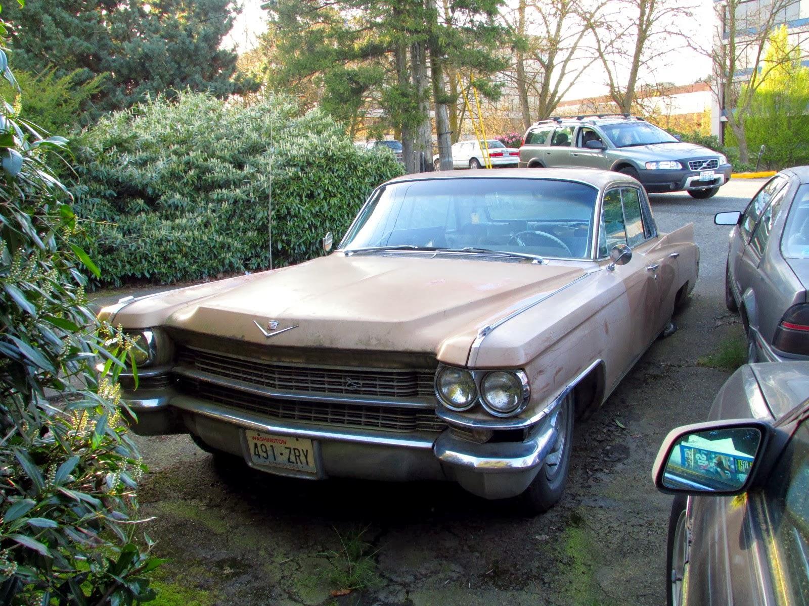 Seattles Classics 1963 Cadillac Fleetwood Sedan 1955 Engine
