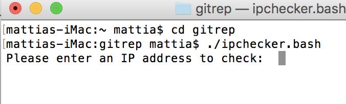 ipchecker bash - A Bash script to automatically check malicious IP