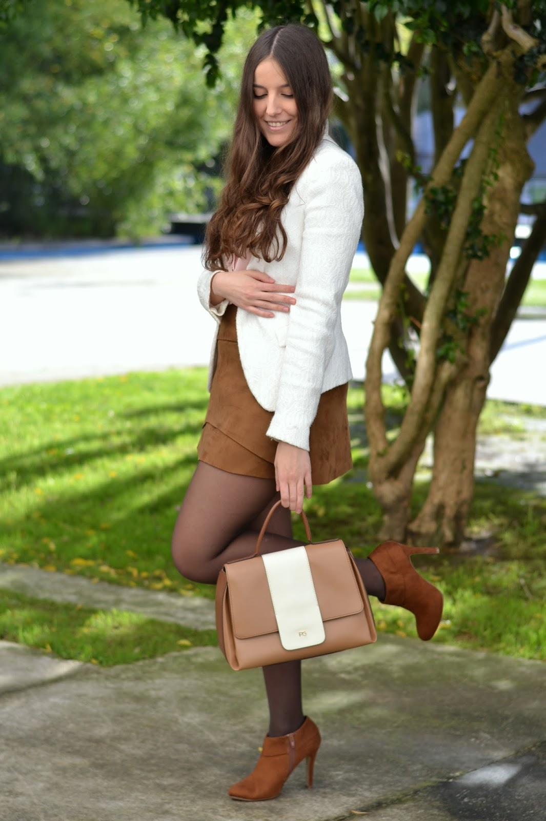 ankle boots, botines, booties, heels, deichmann, camel