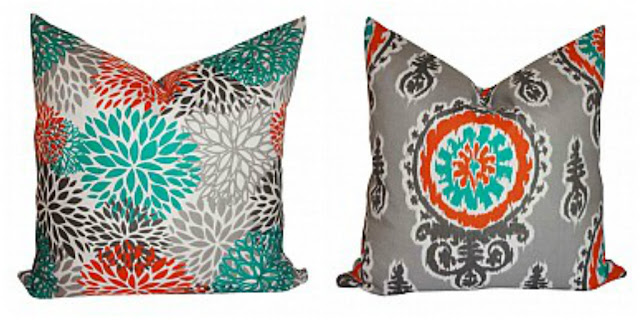 Outdoor patio pillows
