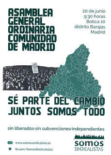 Asamblea general de Somos Sindicalistas