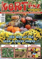 Megjelent a Kertész magazin őszi száma