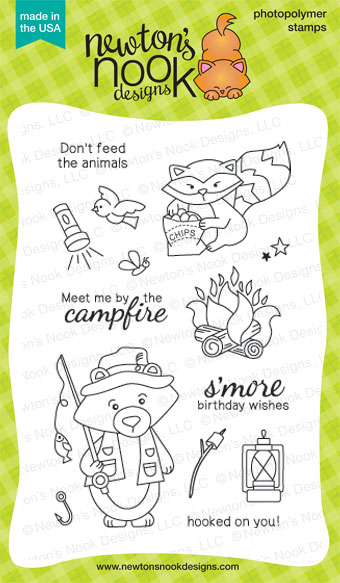 Campfire Tails Stamp set by Newton's Nook Designs