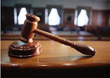 El martinete del juez