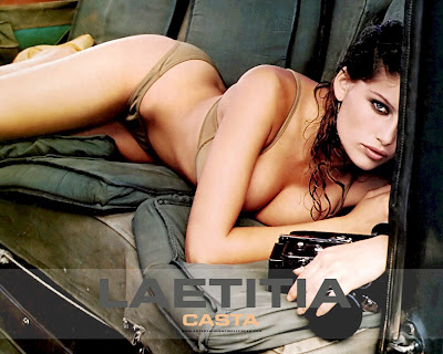 laetitia casta hot hots. Model Hot Semi Naked Pics