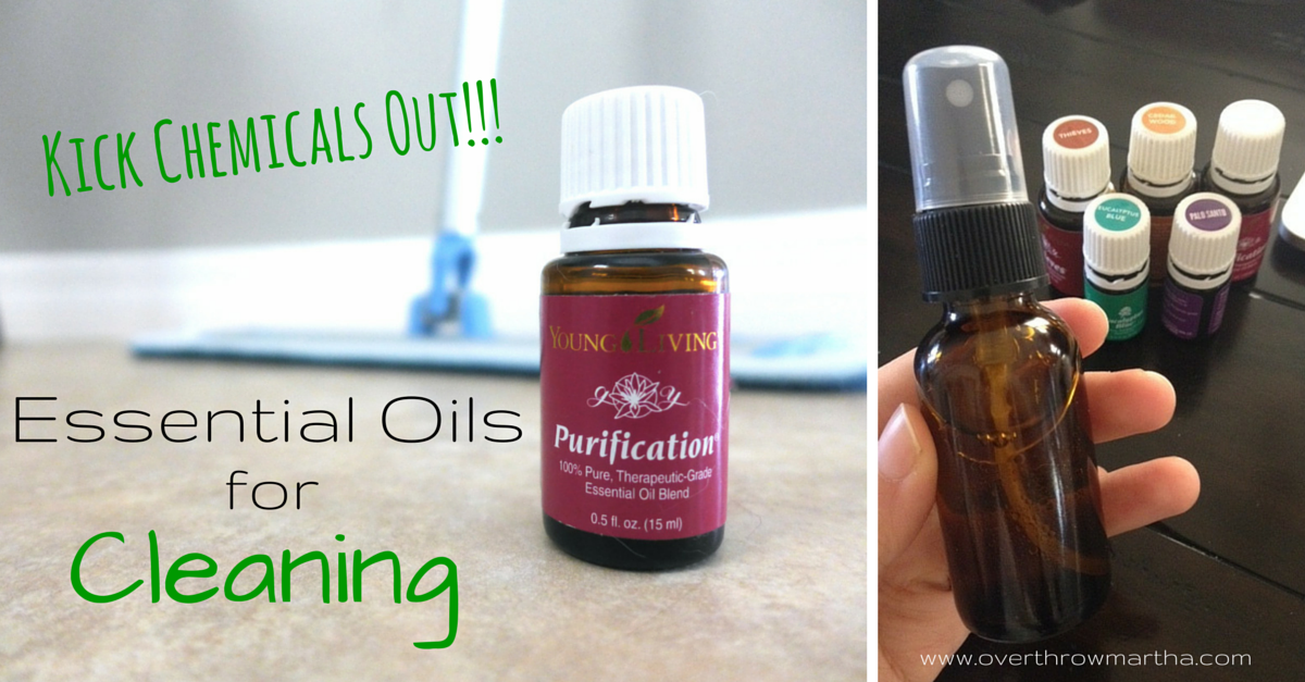Chemical Free Cleaning with Essential oils #yleo #greenclean