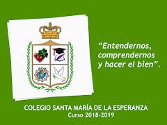 LEMA CURSO ESCOLAR 2018-2019
