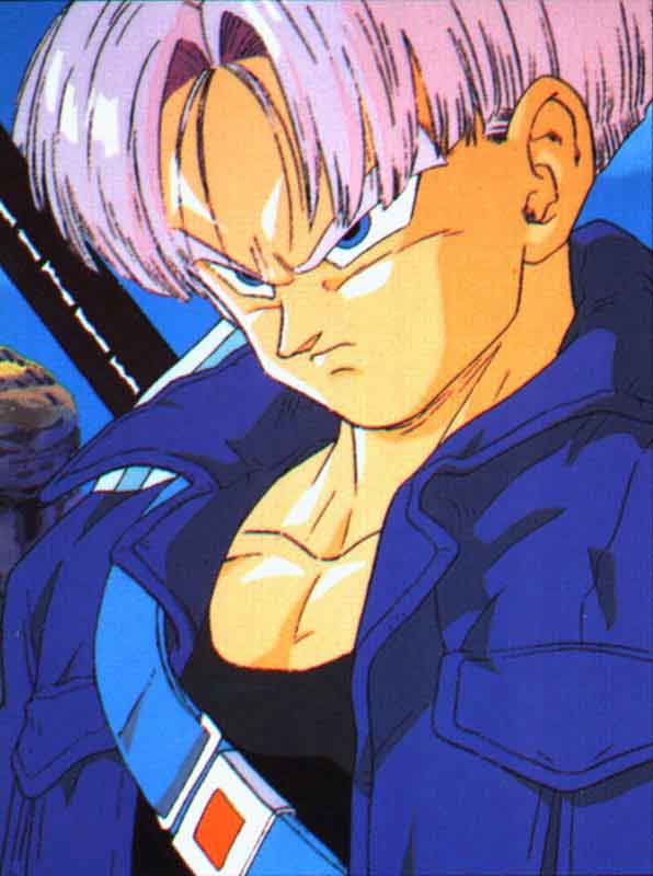 z Trunks Kid Vector Game