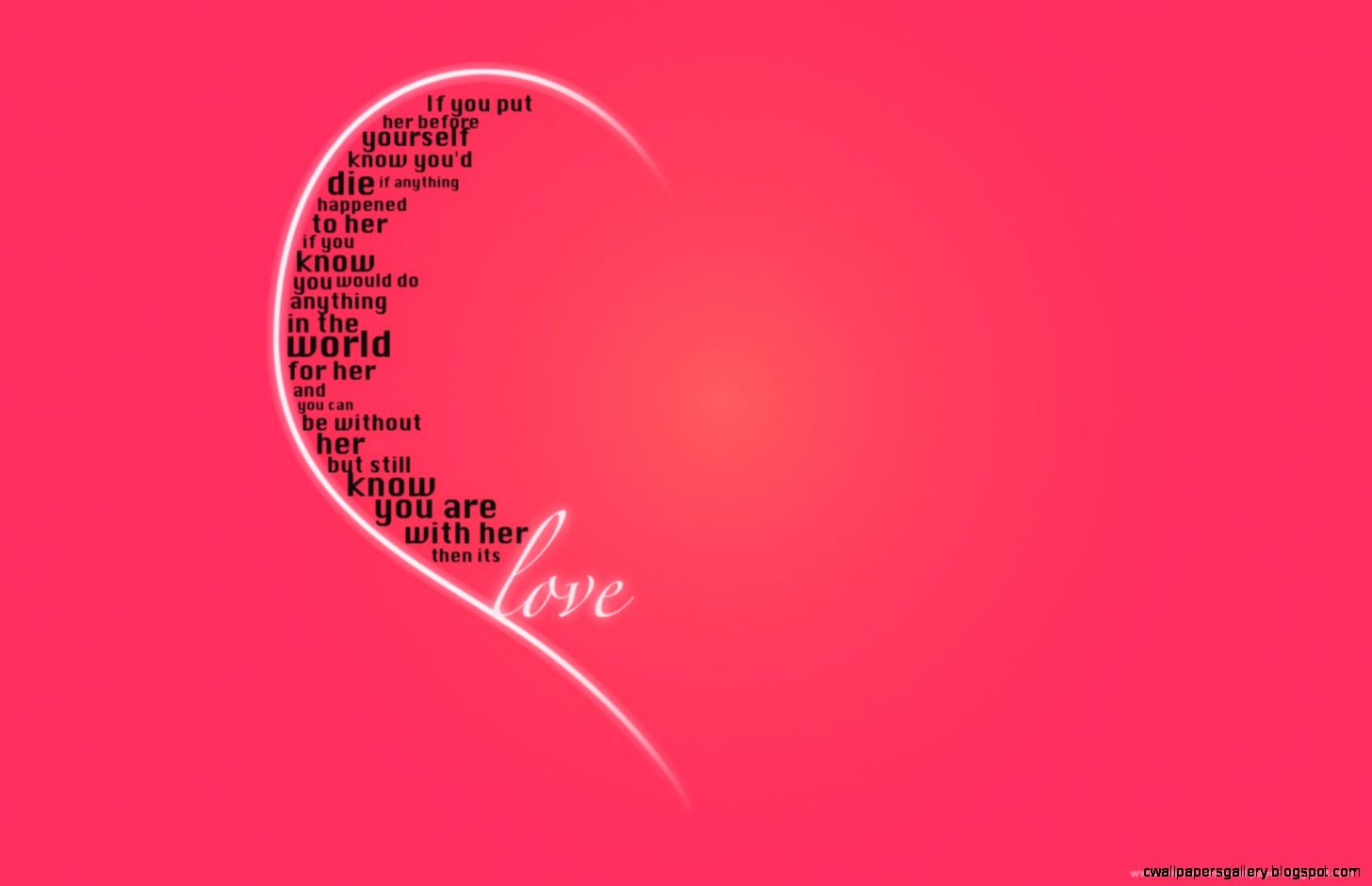 Download Beautiful Love Quotes Background Wallpaper  Full HD