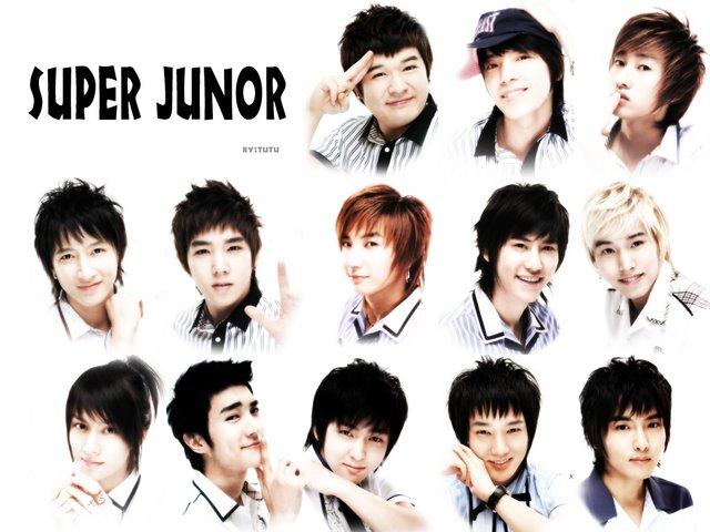 Super Junior Band Members