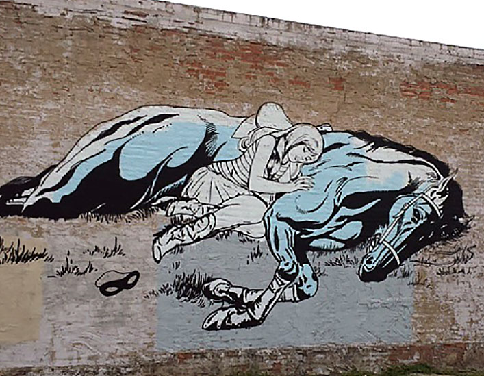 Faile new street art mural in dallas usa streetartnews for Dallas mural artists