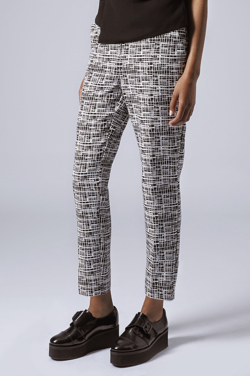 criss cross trousers