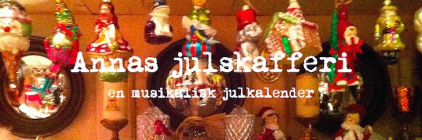 Annas julskafferi