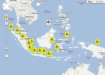 Indonesian Electricity Map