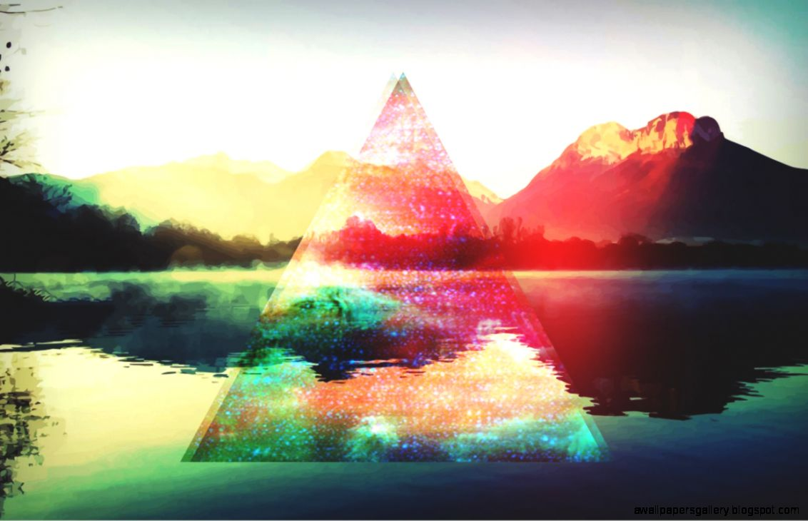 hipster triangle tumblr backgrounds - photo #2