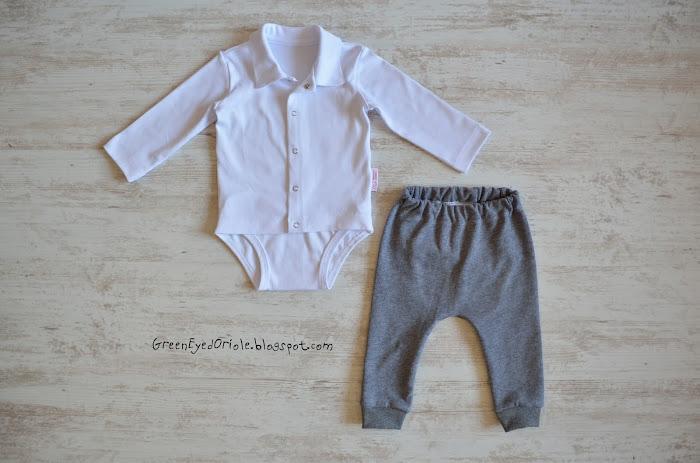 Рубашка-боди и штанишки