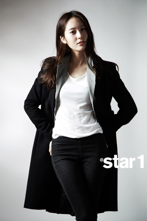 Krystal Jung and Sulli - @Star1 April 2013 | Beautiful ... F(x) Krystal 2013