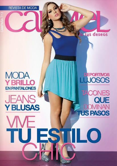 Catalogo carmel moda campaña 7 2013 | catalogos digitales