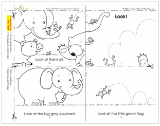 Image Result For Child Looking Coloring