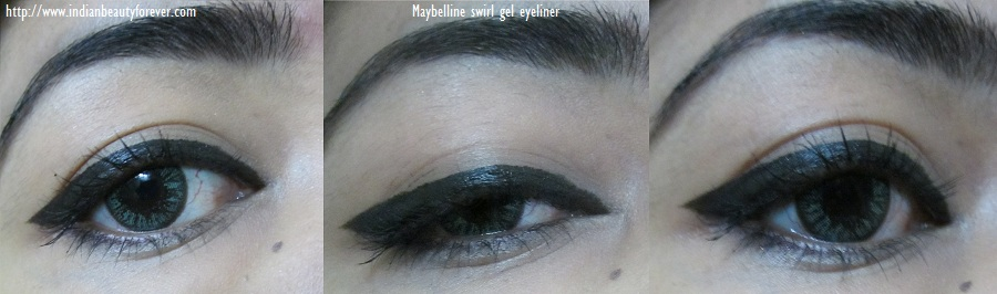 how to apply maybelline gel liner