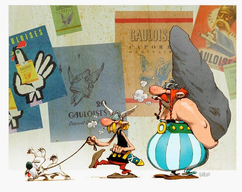 Alle Asterixen van de maand
