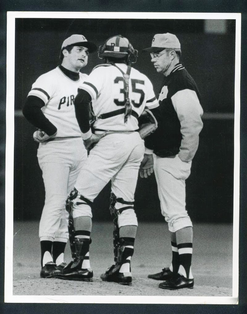 Bob Moose with Sangy and Virdon May 1971