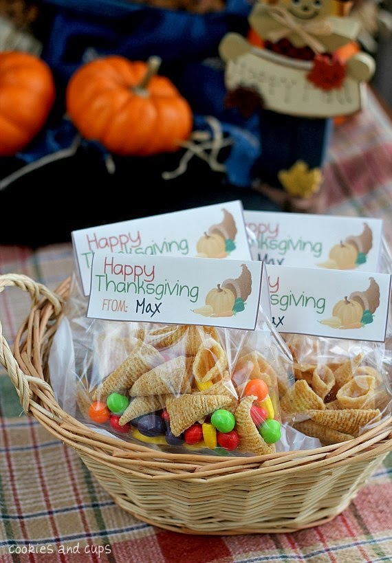 Orchard girls top thanksgiving snacks and treats