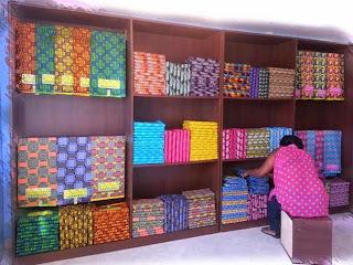 afrikanskie tkani, ankara fabrik, tkani nigerii