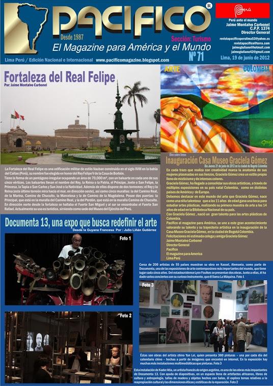 Revista Pacífico Nº 71 Turismo