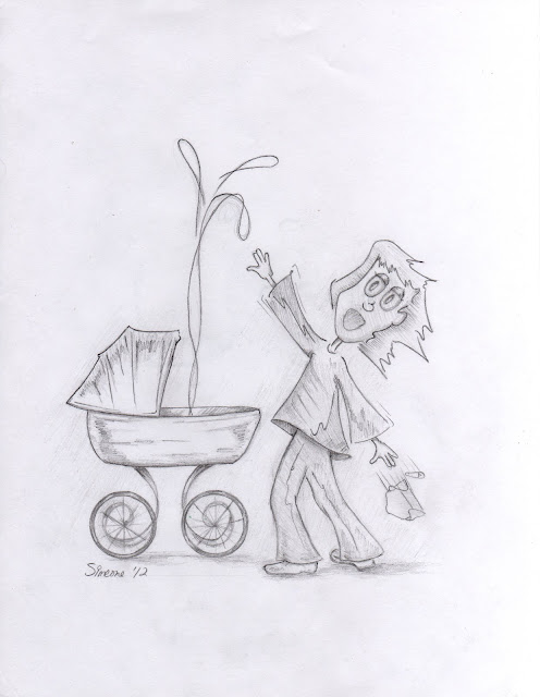 Lou Simeone Illustration Friday contribution