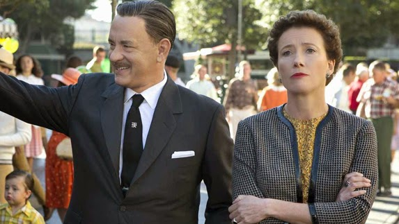 "Tom Hanks and Emma Thompson in ""Saving Mr. Banks"""