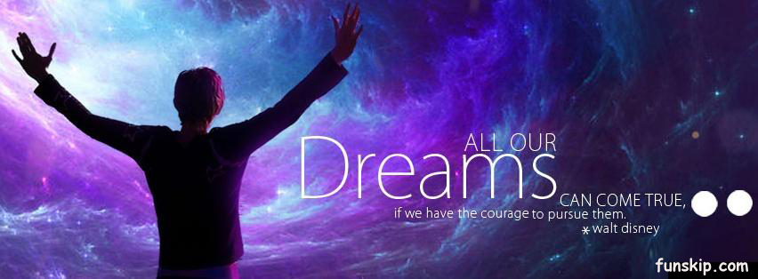 Dreams can come true timeline covers