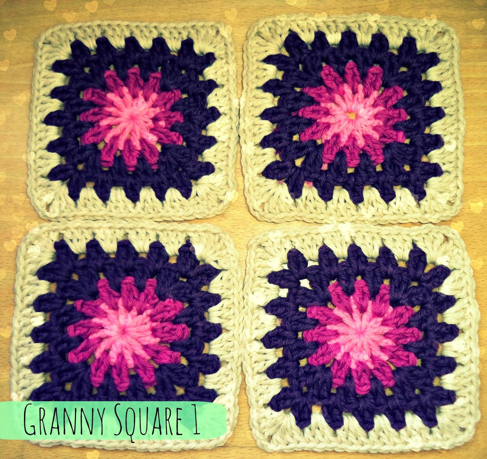 Happy Ganchillo : Aprender a hacer Granny Square