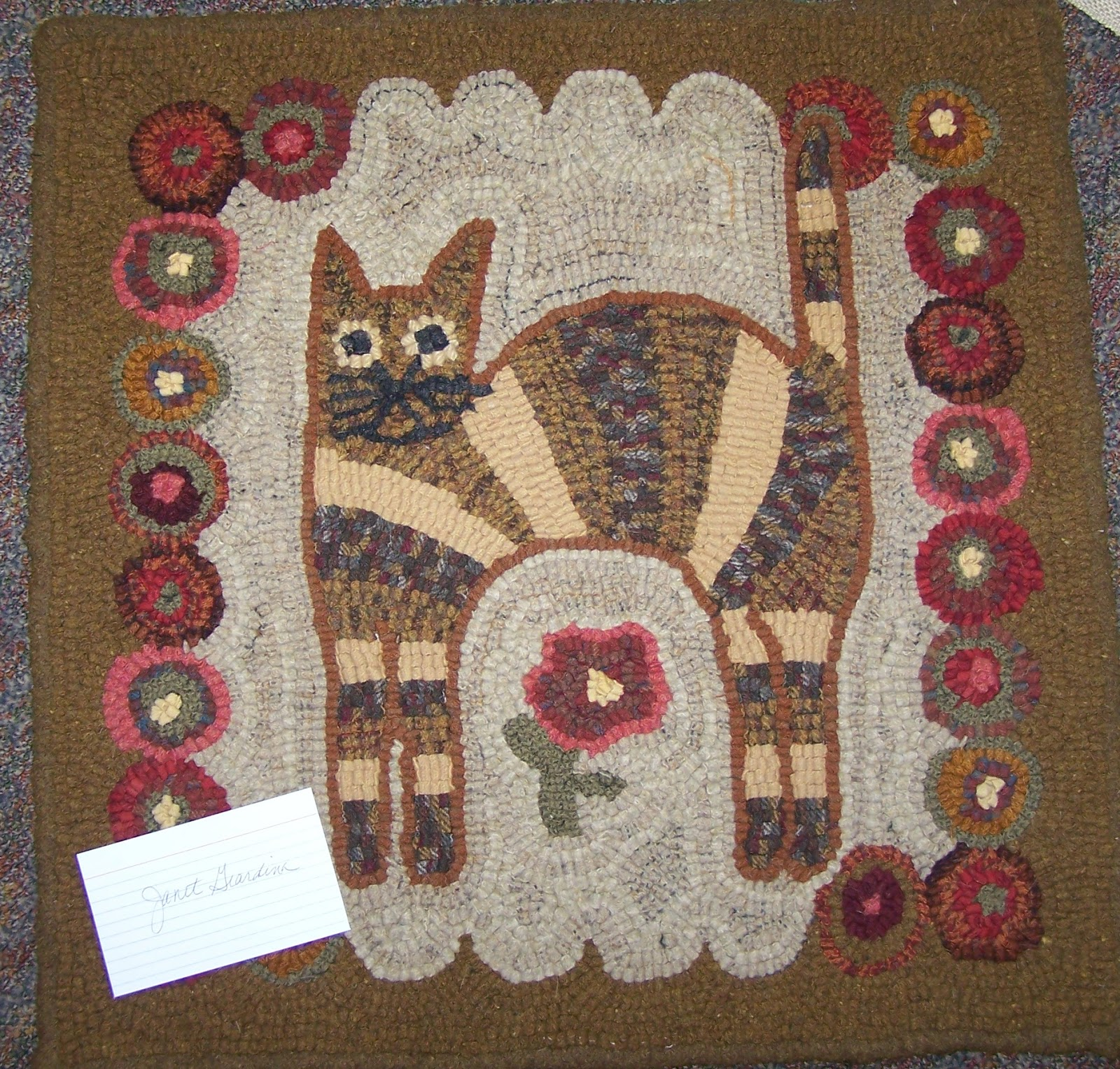 The Hogscald Holler: Old Time Rug Hooking Retreat