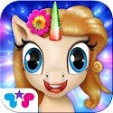Pony Care Rainbow Resort: Enchanted Spa, Fashion Designer & Makeover Magic! App iTunes Google Play App Icon Logo By Kids Fun Club by TabTale - FreeApps.ws