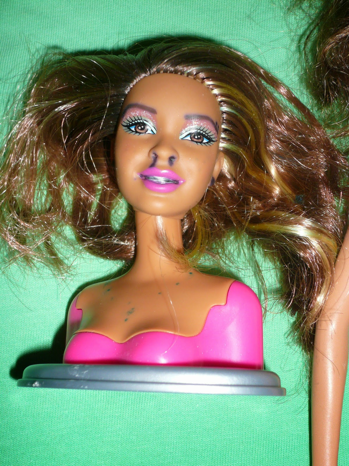 Barbie fashionistas swappin styles heads 63