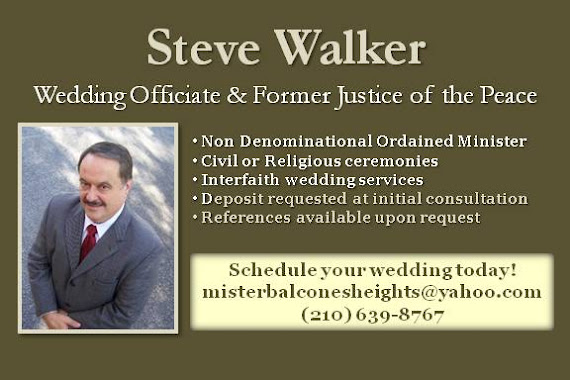 Former Judge Steve Walker
