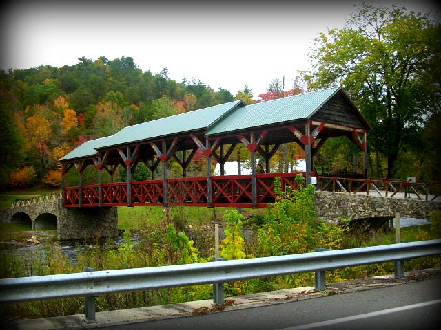 A beautiful bridge in Tellico Plains, Tn