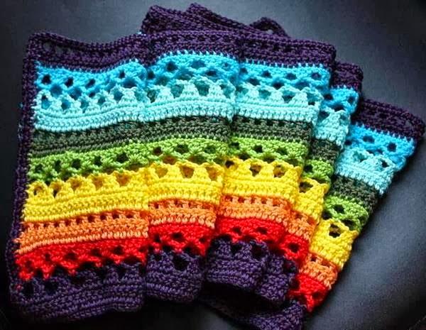 Stylish Easy Crochet: Crochet Scarf, Stole or Muffler ...