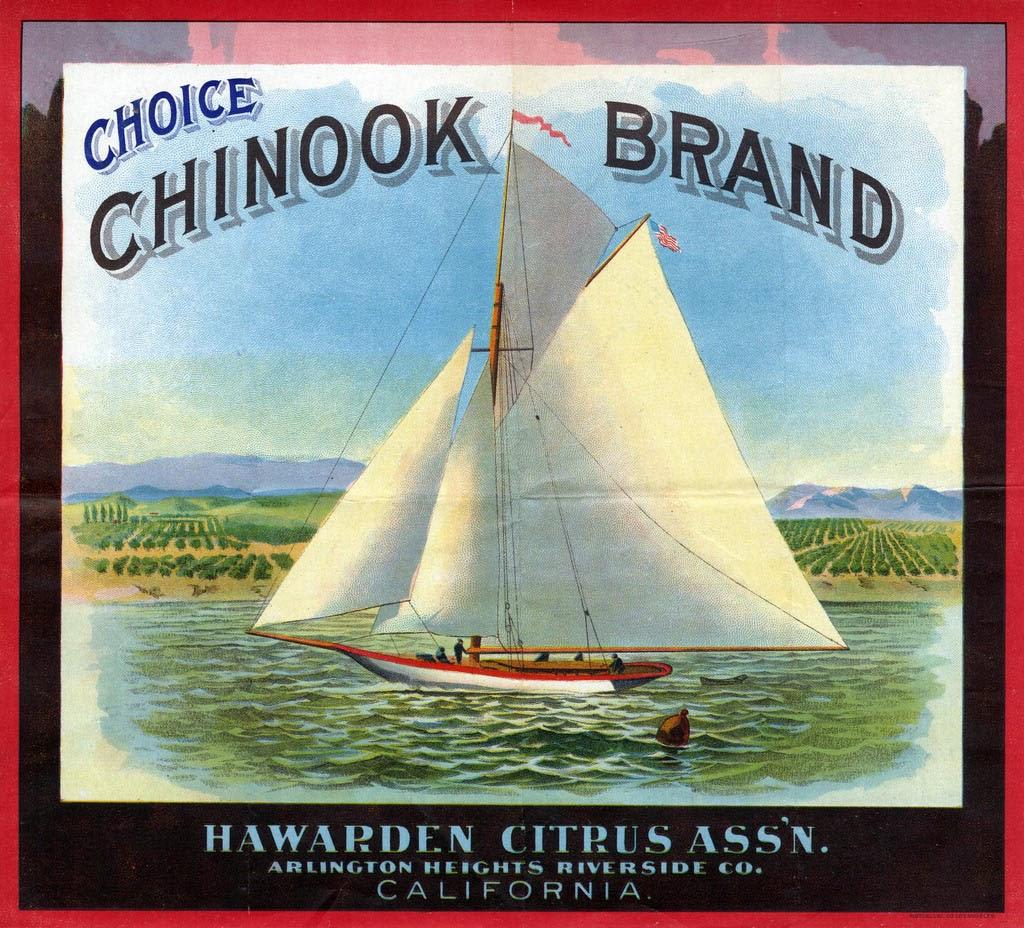Choice chinook brand citrus