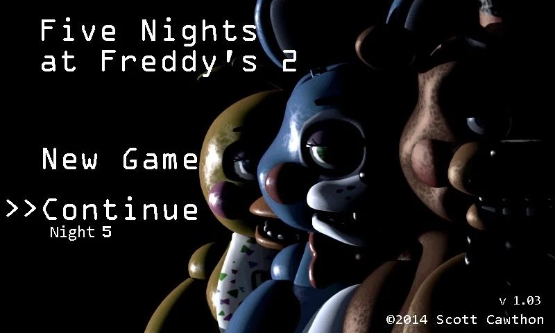 Game Five Nights at Freddy's 2 1.07 APK Terbaru 2015 screenshot  by www.kontes-seo-news.blgospot.com
