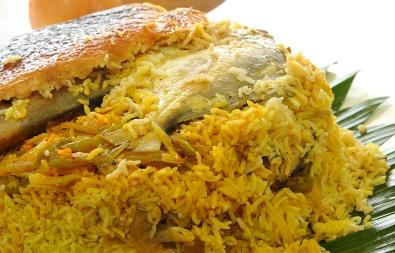 Layered Pomfret & Rice ( Kuwaiti Style) Recipe