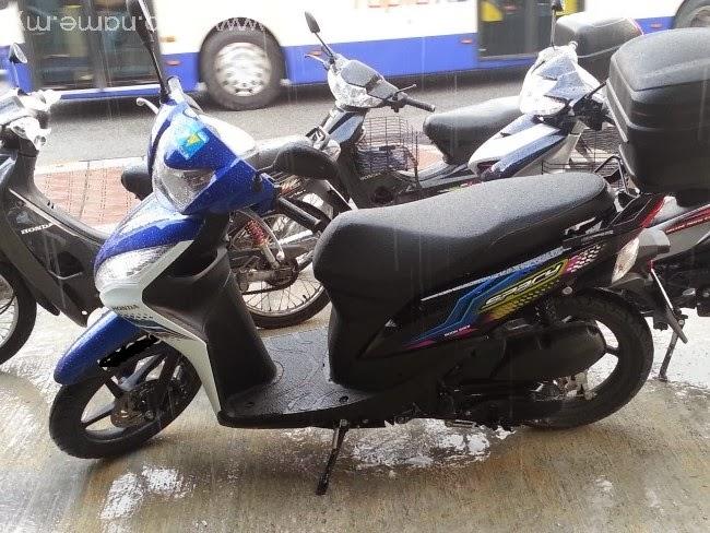 Pengalaman pertama memiliki scooter