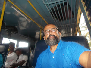 "On the local ""KSRTC"" bus from Ernakulam to Alappuzha."
