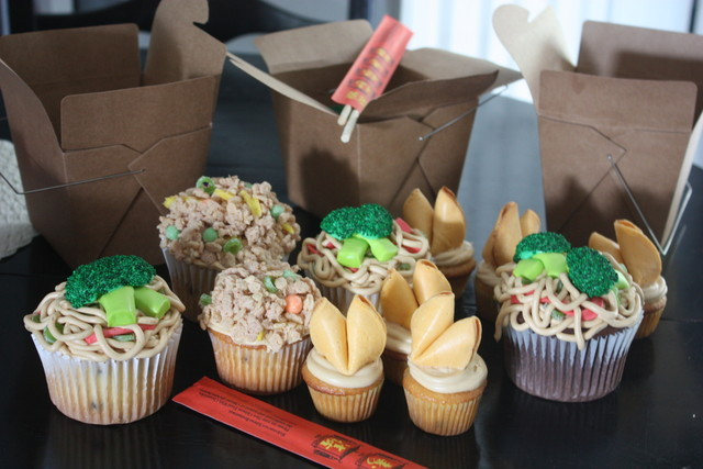 Christie's Cakes: Chinese Take-Out Cupcakes
