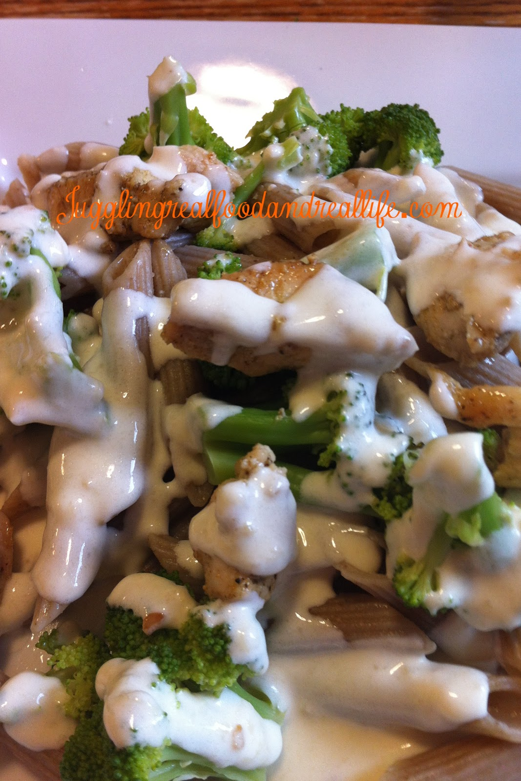 Quick and Easy Homemade Alfredo Sauce – Juggling Real Food and Real ...